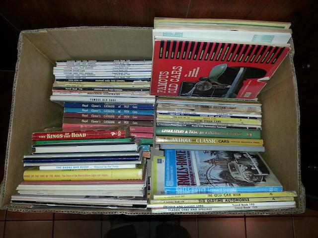 A lot of Floyd Clymer titles,