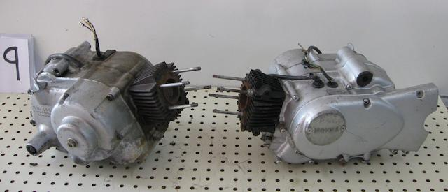 A pair of C-100 parts engines,