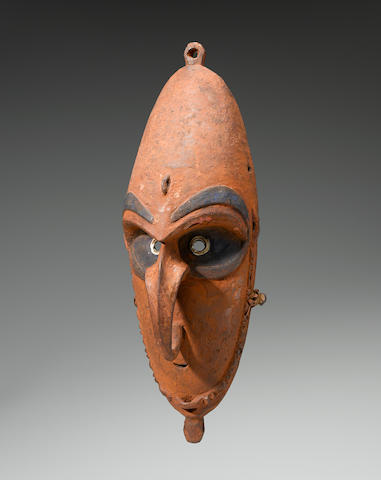 A group of three New Guinea masks, Sepik