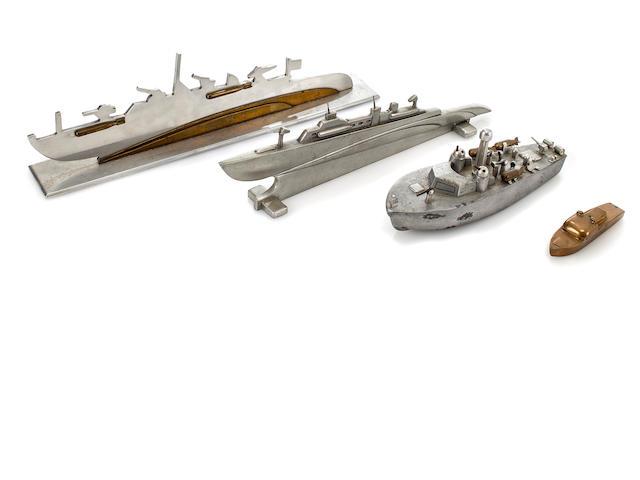 4 PT boat models