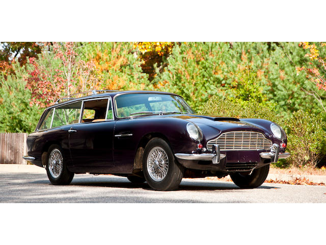 Original left hand drive, manual transmission and air-conditioning specification,1965 Aston Martin DB6 Vantage Shooting Brake  Chassis no. DB6/2387/LN Engine no. 400/2488/VC