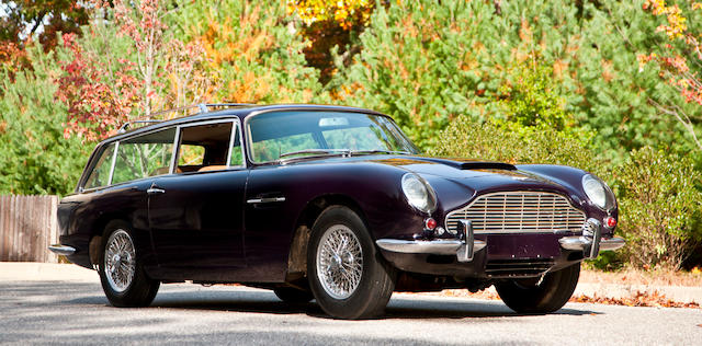 One of only 6 Radford conversions, factory air-conditioning, left hand drive,1965 Aston Martin DB6 Vantage Shooting Brake  Chassis no. DB6/2387/LNK Engine no. 400/2488/VC