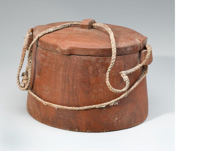 Lidded Container, Tokelau Atolls