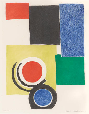 Sonia Delaunay, Untitled (Gravure), 1970;