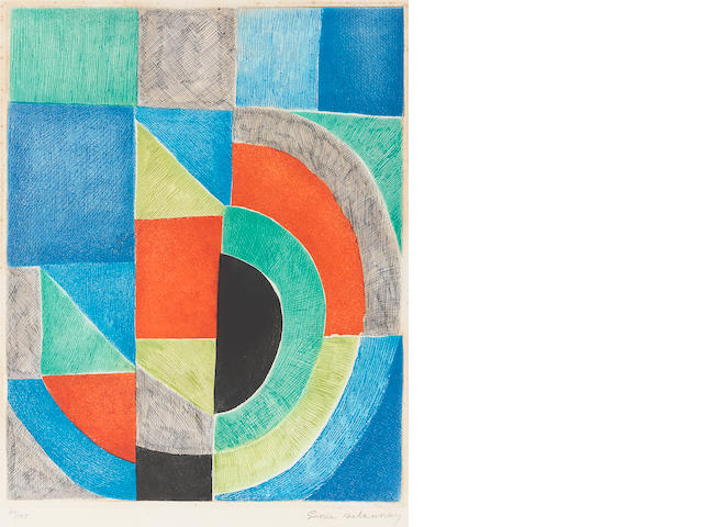 Sonia Delaunay, Carreau Rouge, C.1970;