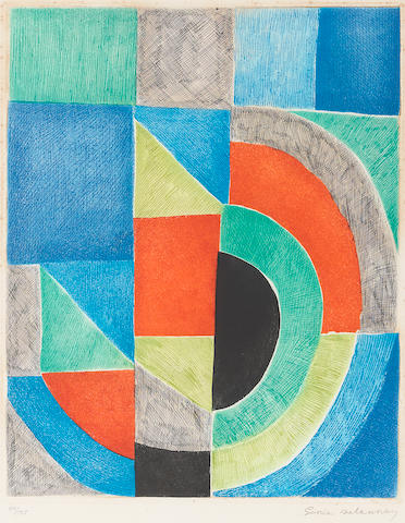 Sonia Delaunay, Carreau Rouge, C.1970;