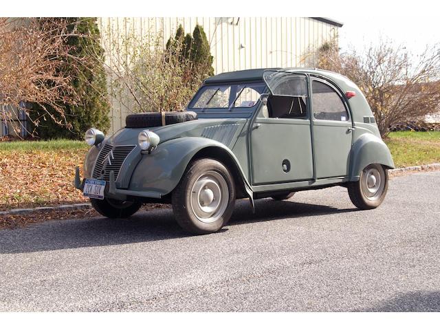 1962 Citroën Sahara 4x4  Chassis no. 5400185AW Engine no. 05400185