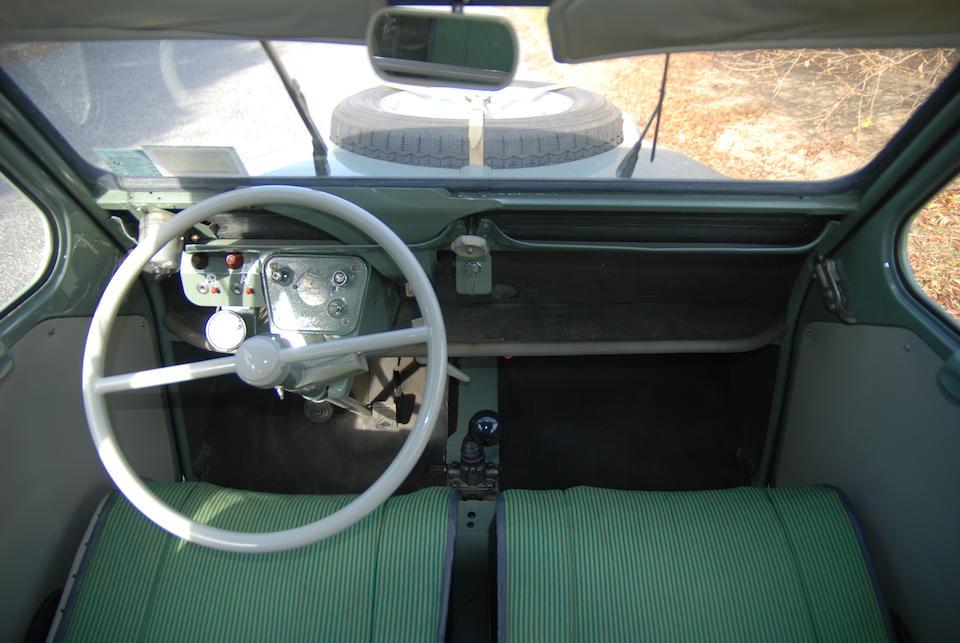 1962 Citroën 2CV Sahara 4x4  Chassis no. 5400185AW Engine no. 05400185 and 05400158