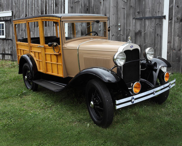 1930 Ford Model A Station Wagon  Engine no. A 3889827