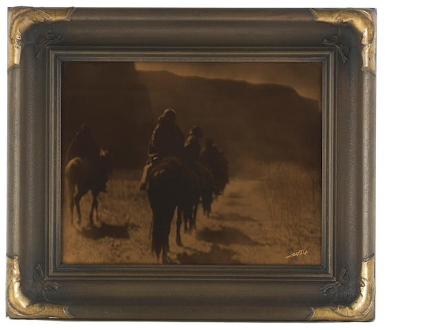 Edward Curtis, Orotone: Vanishing Race;