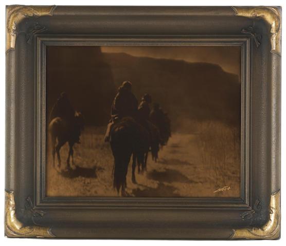 Edward S. Curtis (1868-1952); The Vanishing Race, Navaho;
