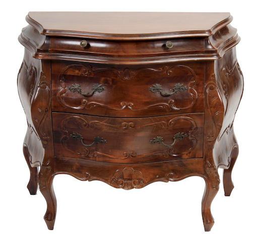 A Louis XV style petite commode