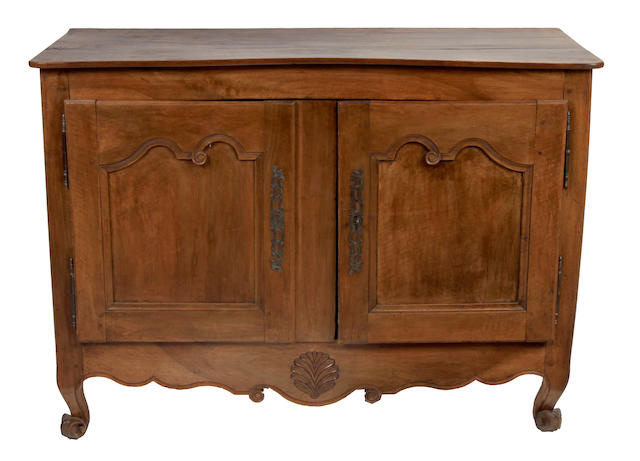 A French Provincial fruitwood buffet