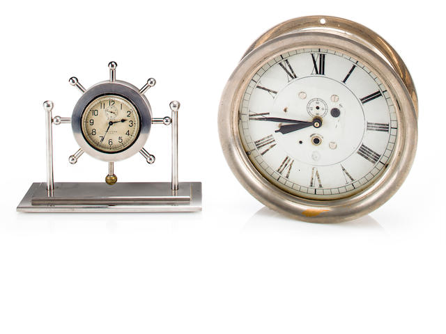 2 Navy clocks