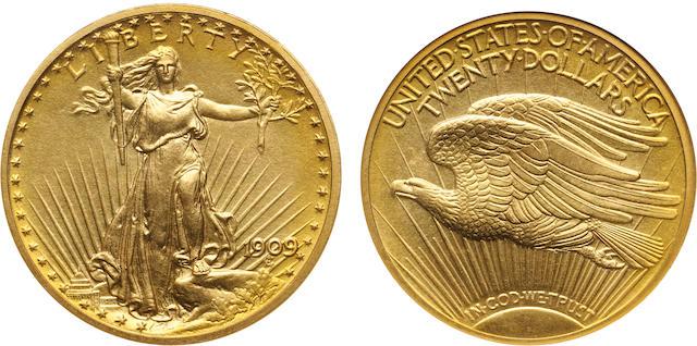 1909 $20 PF-68 NGC