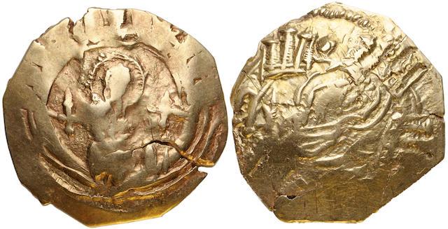 Byzantium, Unidentified scyphate hyperpyron (2)