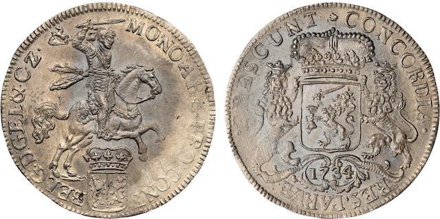 Netherlands, 1734 Ducaton