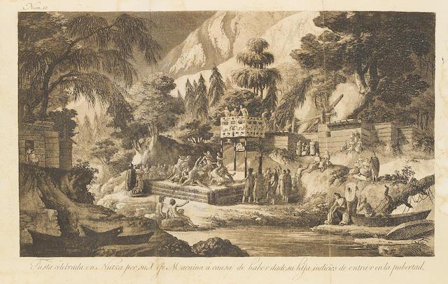 ESPINOSA Y TELLO, JOSEF. 1763-1815. Atlas para el viage de las goletas Sutil y Mexicana al reconocimiento del estrecho de Juan de Fuca en 1792. [Madrid: Imprenta Real, 1802.]