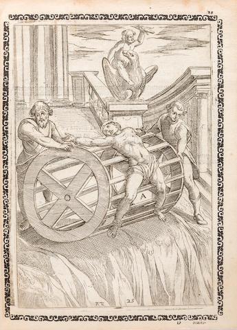 GALLONIO, ANTONIO. d.1605. Trattato de gli instrumenti di martirio.... Rome: Ascanio e Girolamo Donangeli, 1591.<BR />