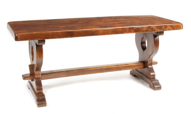 A Renaissance style dining table