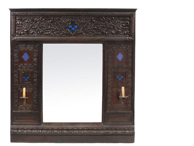 A Rennaisance style mirror