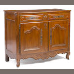 A Louis XV walnut buffet