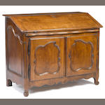 A Louis XV fruitwood clerk's bureau, mid 18th century