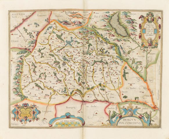 ORTELIUS, ABRAHAM. 1527-1598. [Theatrum Orbis Terrarum ... The Theatre Of The Whole World.] [London: John Norton, 1606.]