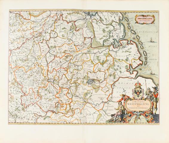 BLAEU, WILLEM JANSZOON and JOHANNES BLAEU. [Theatrum orbis terrarum sive Atlas novus. Amsterdam: Blaeu, 1645-50.]
