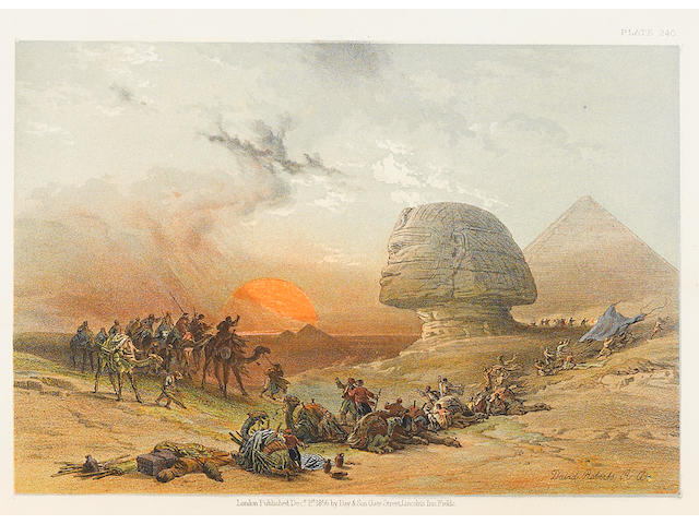 ROBERTS, DAVID. 1796-1864. The Holy Land, Syria, Idumea, Arabia, Egypt, & Nubia. London: Day & Son, 1855-56.