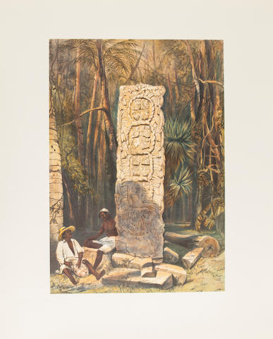 CATHERWOOD, FREDERICK. Views of Ancient Monuments in Central America, Chiapas, and Yucatan. Barre, MA: Barre Publishers, 1965.<BR />
