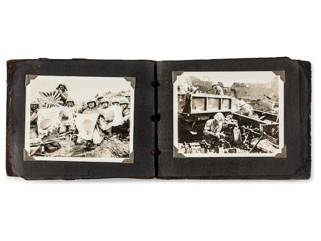 Joe Rosenthal, (Photographer).  His personal album of photographs taken on Iwo Jima  February 19th-March 1st 1945
