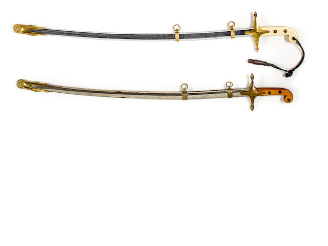 US MARINE CORPS Officers' Sword of the Mameluke Design (1900 - 1930s period)