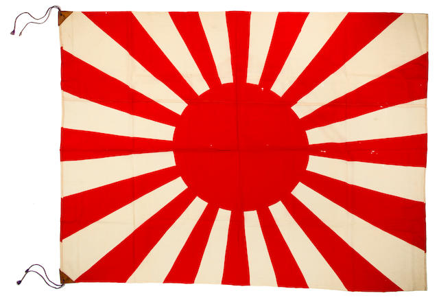2 Japanese flags