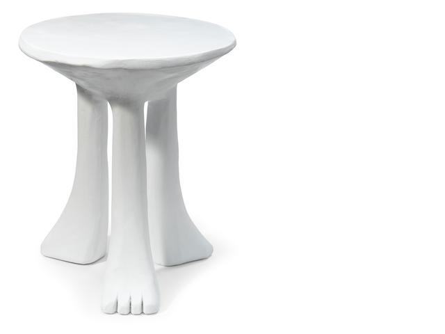 A John Dickinson plaster table, 101a