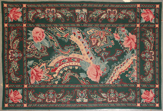 A pair of Chinese needlepoint
