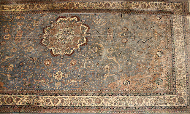 An Indo Kashan carpet size approximately 12ft. x 18ft. 2in.