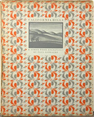 LANDACRE, PAUL. 1893-1963. California Hills. Los Angeles: Bruce McCallister, 1931.