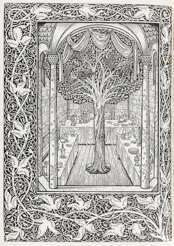 KELMSCOTT PRESS. MORRIS, WILLIAM. The Story of Sigurd the Volsung and the Fall of the Niblungs. Hammersmith: printed at the Kelmscott Press, January, 1898.