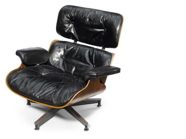 A Charles and Ray Eames 670 chair