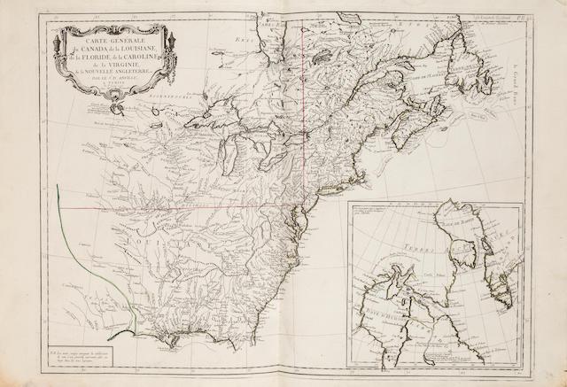 VAUGONDY, ROBERT DE, PIETRO SANTINI, and others. Atlas universel dressé sur les meilleures cartes modernes. Venice: Giuseppe Remondini, 1784.