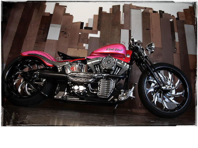 "2001 HD Roland Sands Designs ""Pink Trash"""