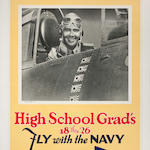 Lt. Comdr. O'Hare, USN, High School Grad's 18 thru 26 Fly with the Navy, Go to Your Nearest Recruiting Station, Win your Navy Wings Be a Flying Officer 42x28
