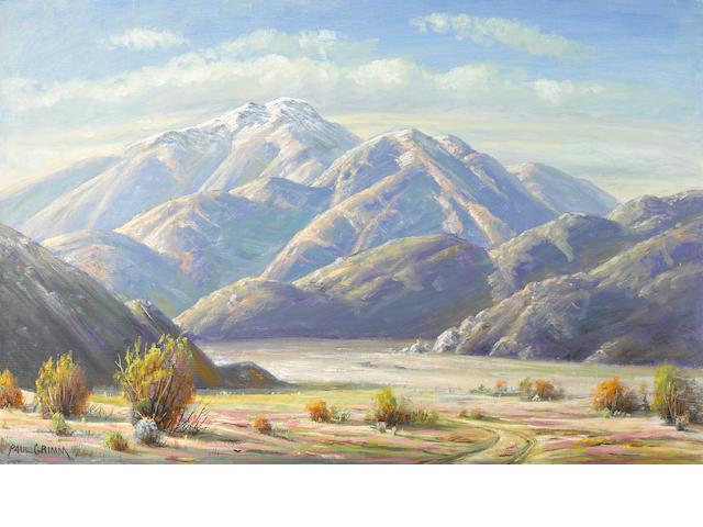 Paul A. Grimm (American, 1891-1974) Nature's triumph