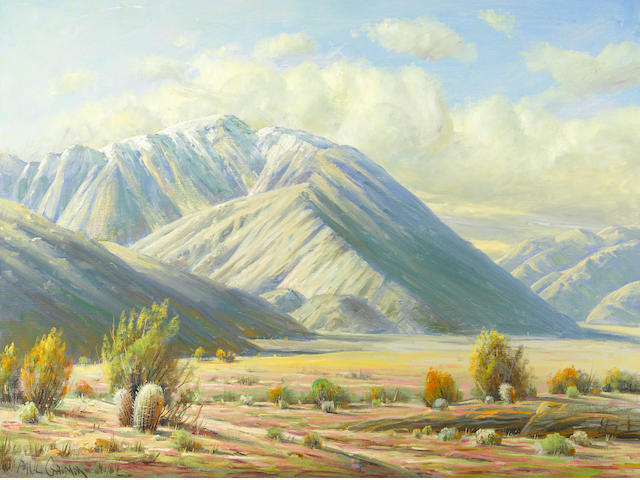 Paul A. Grimm (American, 1891-1974) Front yard of San Jacinto
