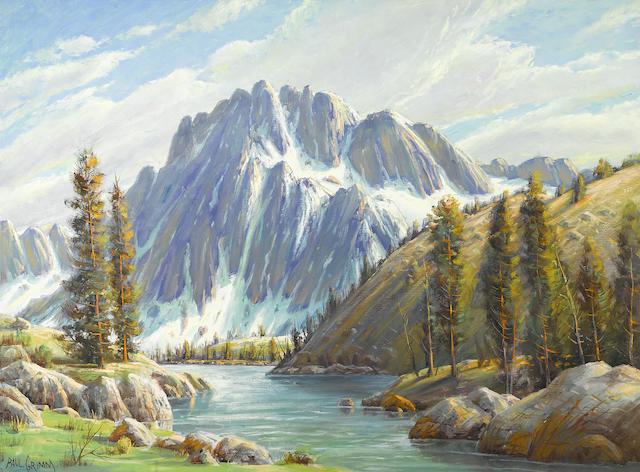 Paul A. Grimm (American, 1891-1974) Sierra grandeur