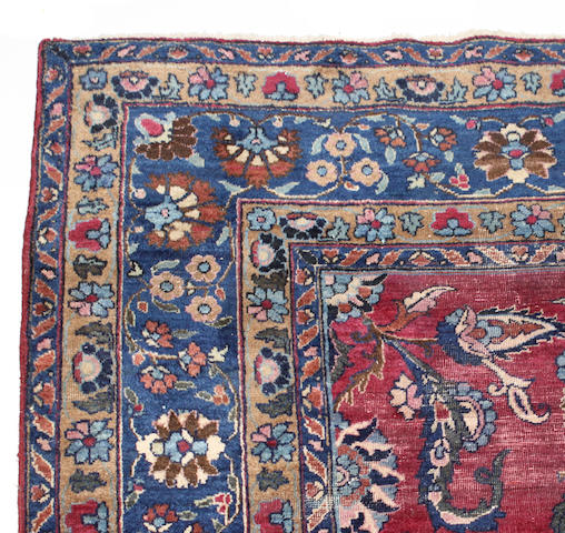 A Mahal rug size approximately 7ft. 10in x 10ft. 8in