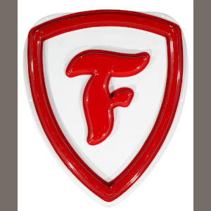 A Firestone logo garage sign