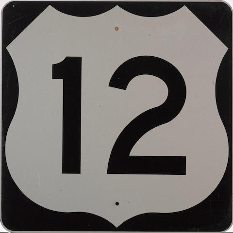 A US Idaho Highway 12 road sign,