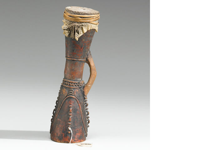 Kundu Drum, Lower Sepik River, Papua New Guinea
